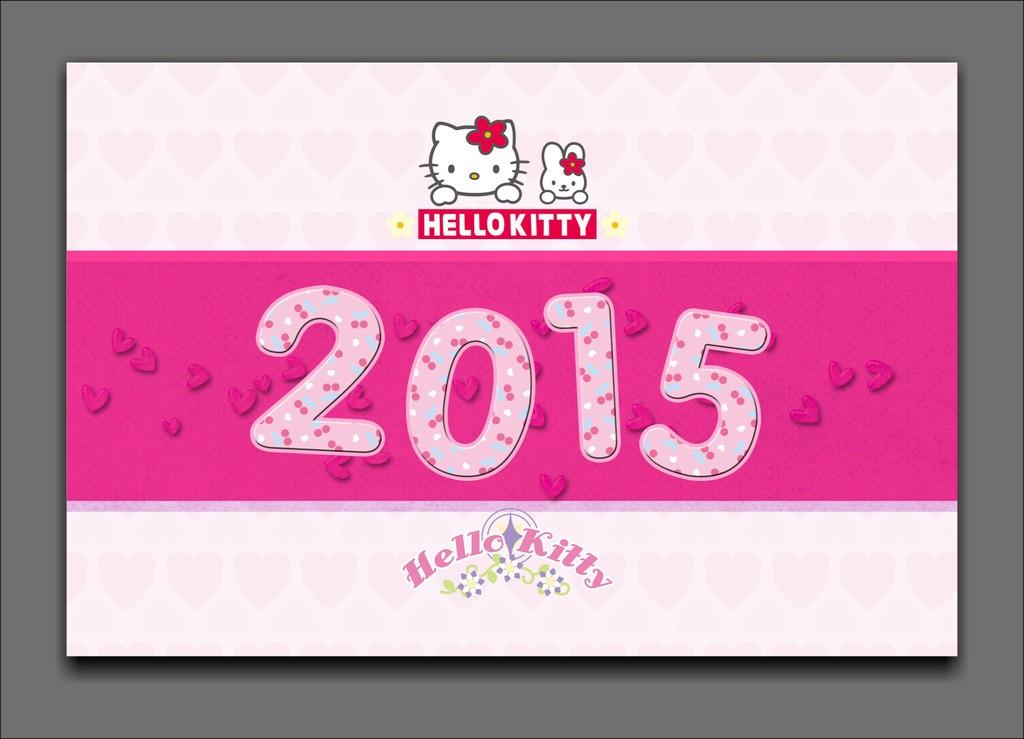 2015年儿童台历模板 2015年卡通台历模板图片