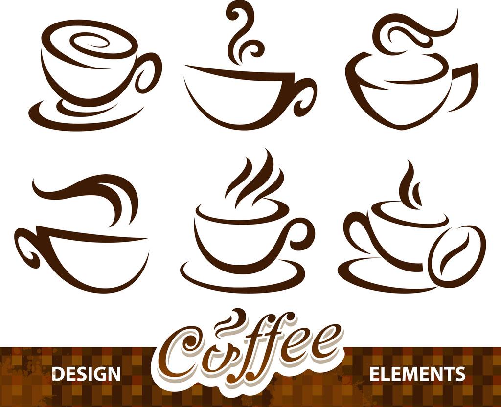 咖啡矢量素材模板下载(图片编号:11896541)