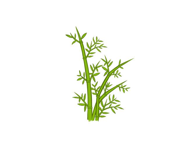【ai】卡通竹子矢量图