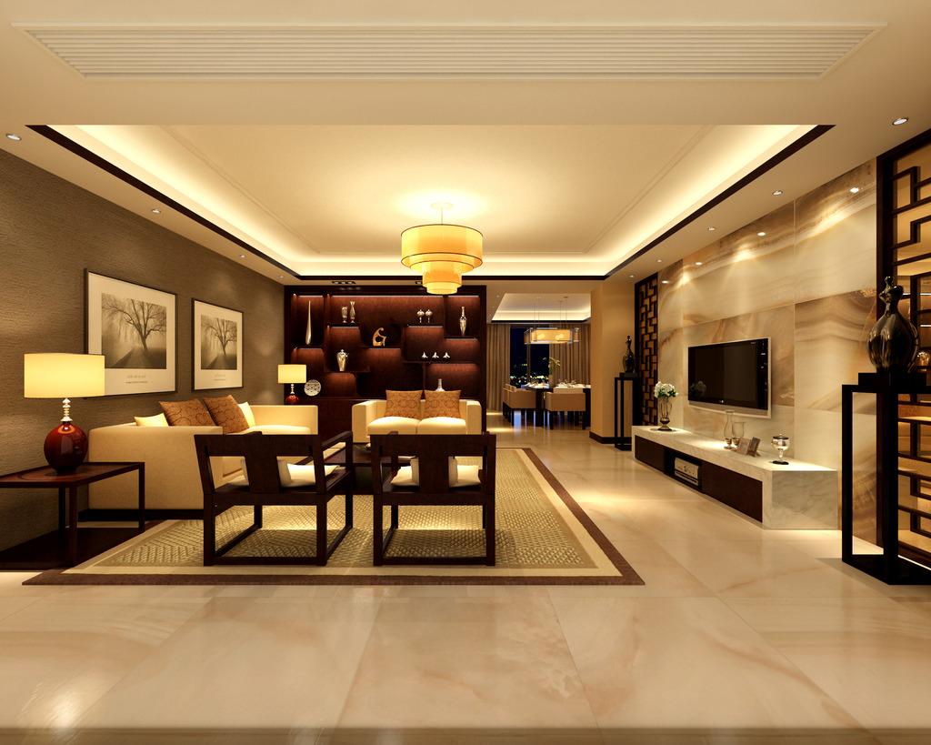 背景墙|装饰画 其他 室内设计 > 新中式室内设计仿石砖  下一张&nbsp图片