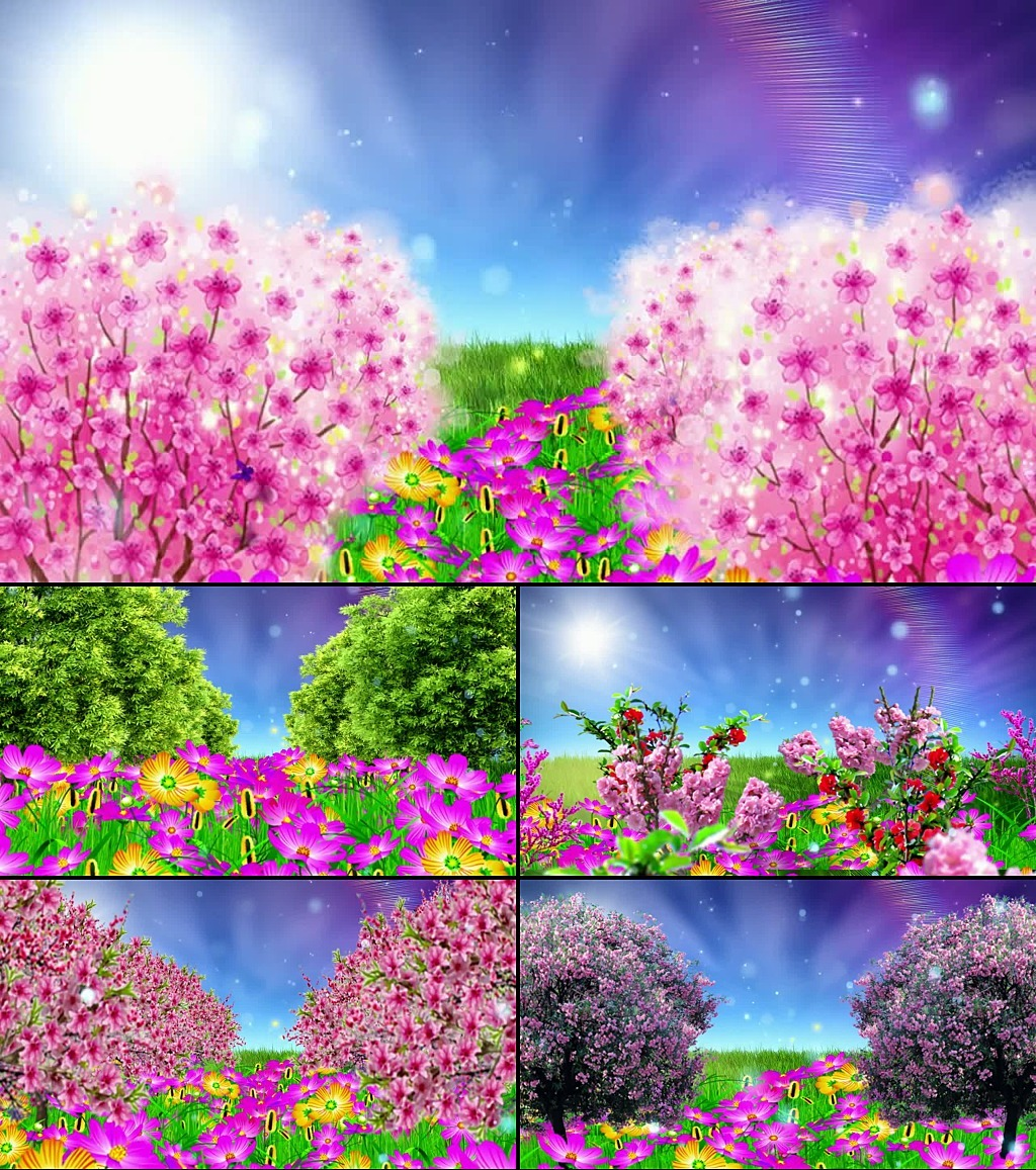 六一儿童节 祖国的花朵 模板下载 119