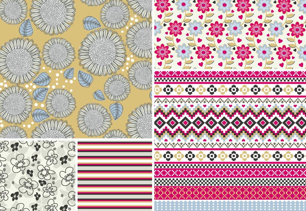 地板革 地板革图片 地板革图案设计 面料花纹 花纹 花 花卉布料 花色