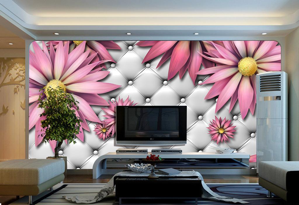 高档仿软包欧式电视沙发客厅背景墙