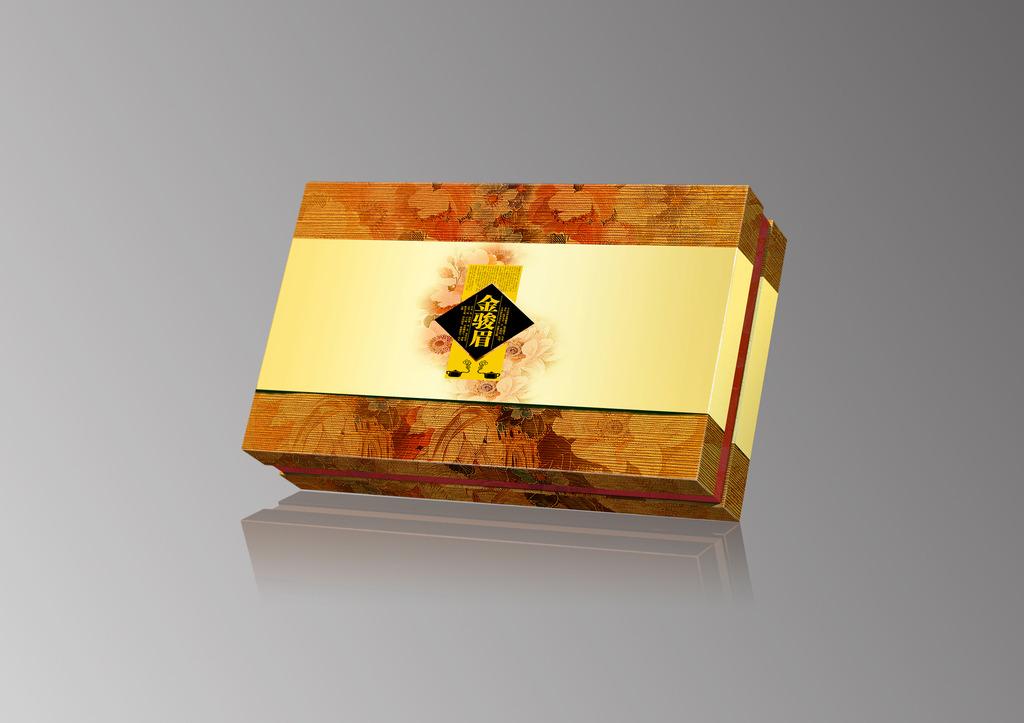 精品茶叶礼盒包装设计平面图