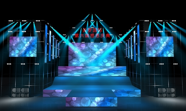幼儿园音乐小舞台布置