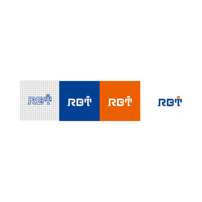 r字母logo设计机器人企业