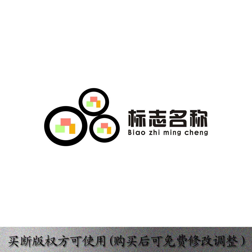 寿司标志设计矢量cdr源文件模版下载模板下载(图片:)