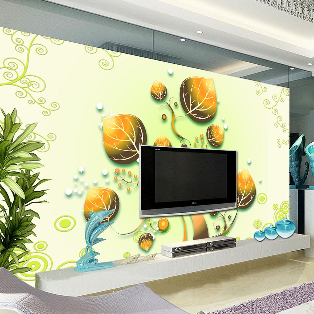 现代简约电视背景墙