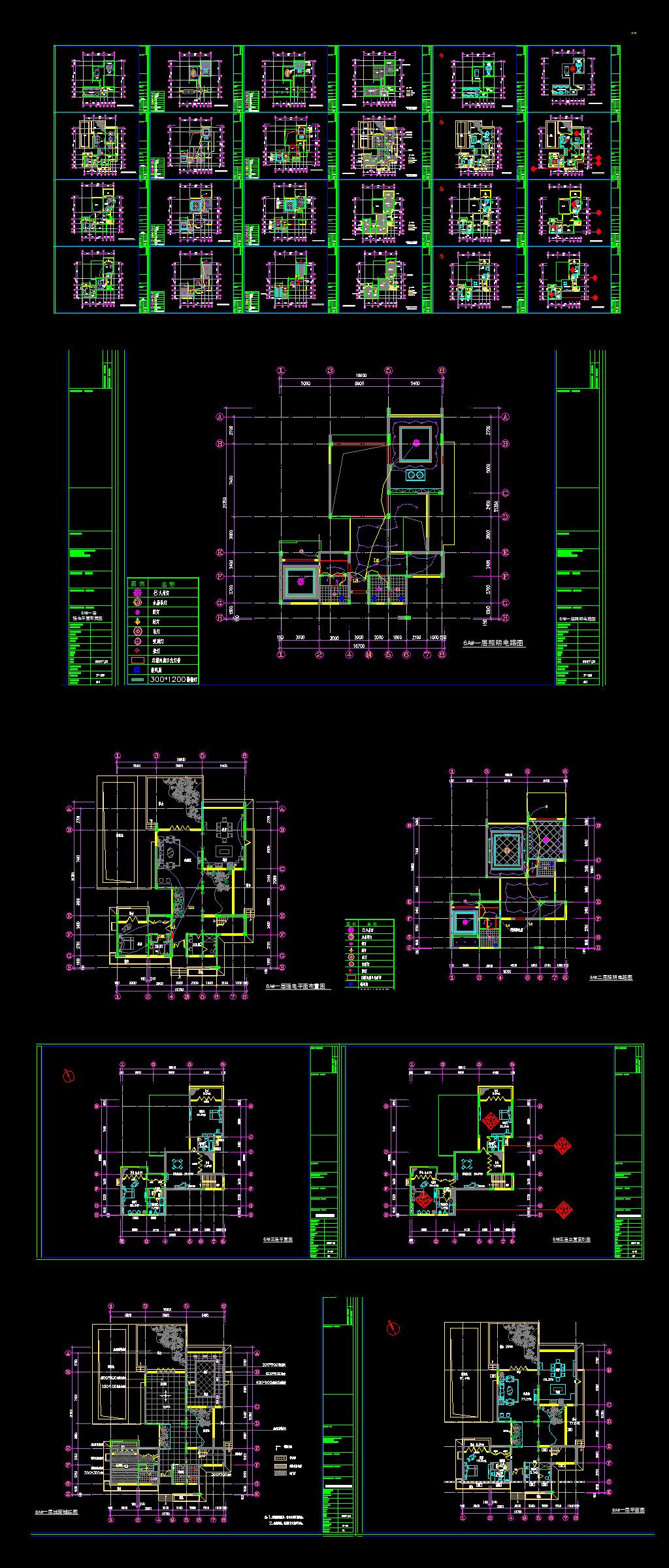 室内cad平面布置图纸图片下载 cad室内平面布置图cad结构图 cad图 ca