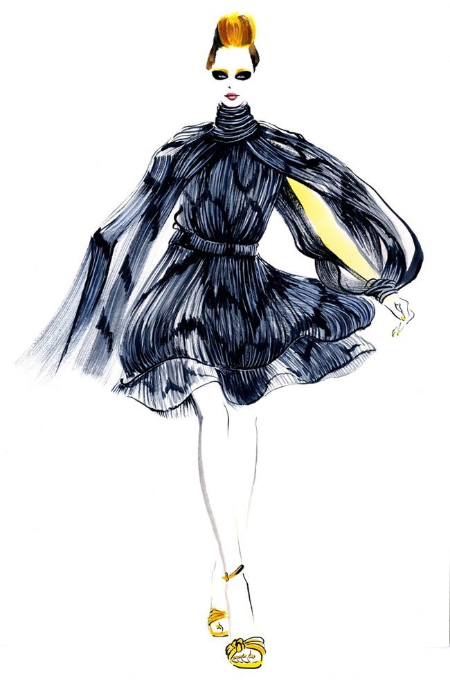时尚潮流服装手绘稿