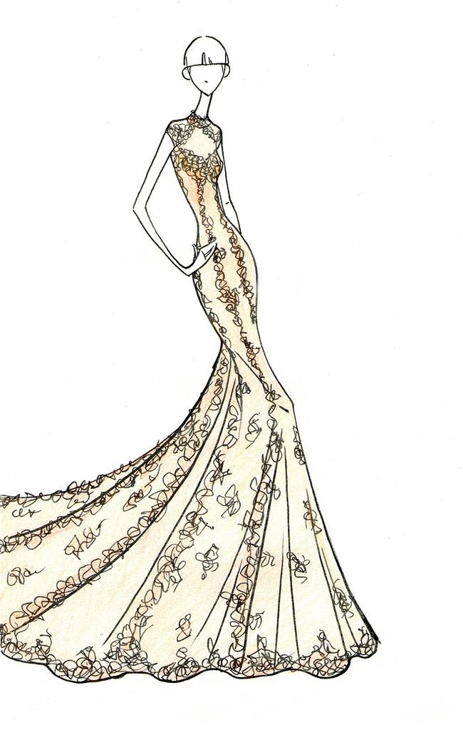服装手绘效果图 服装手绘图 服装手绘款式图 服装设计 服装款式搭配图片