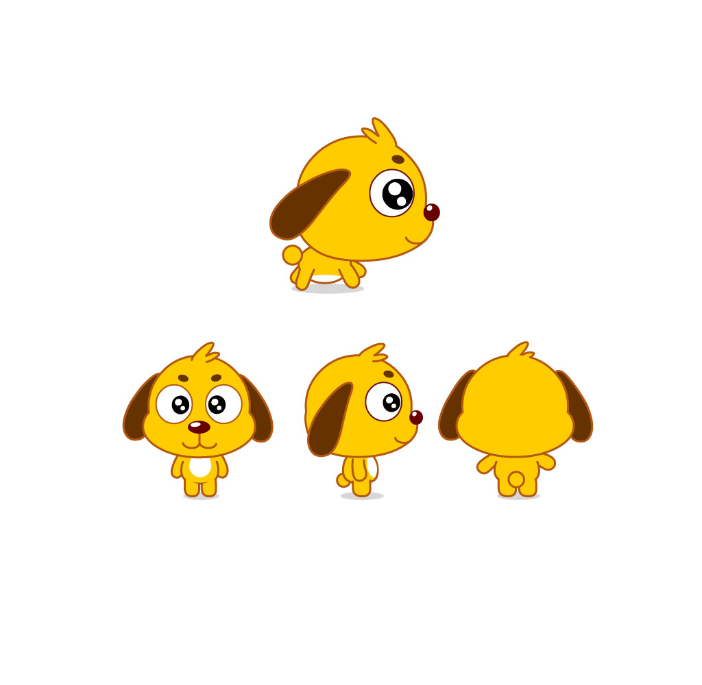可爱动物卡通萌图片大全