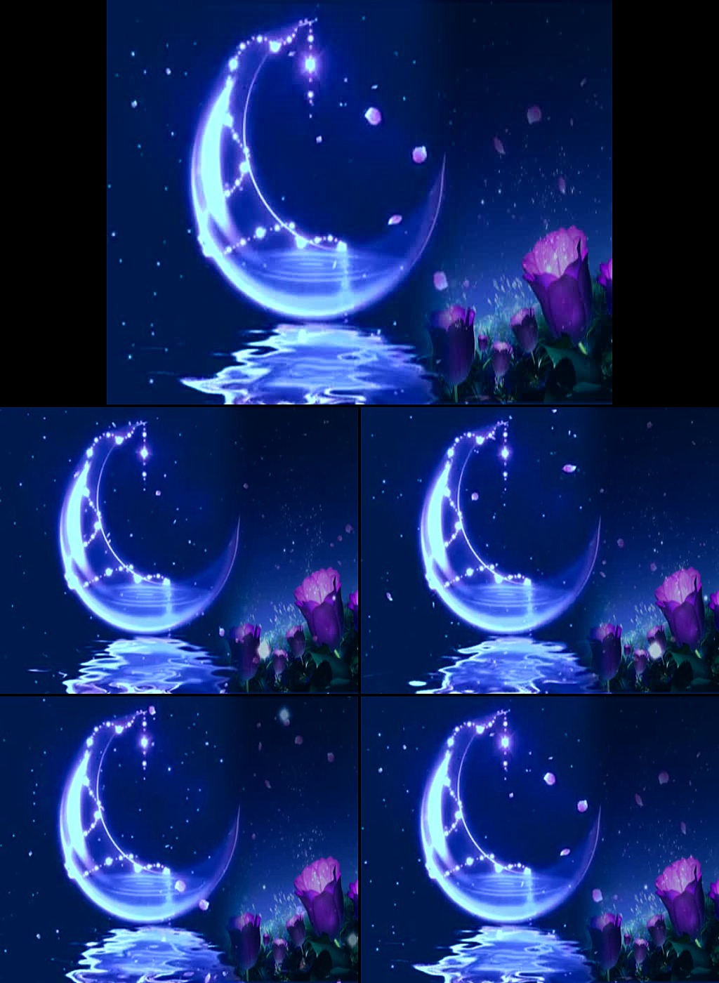 发光光效 梦幻月亮