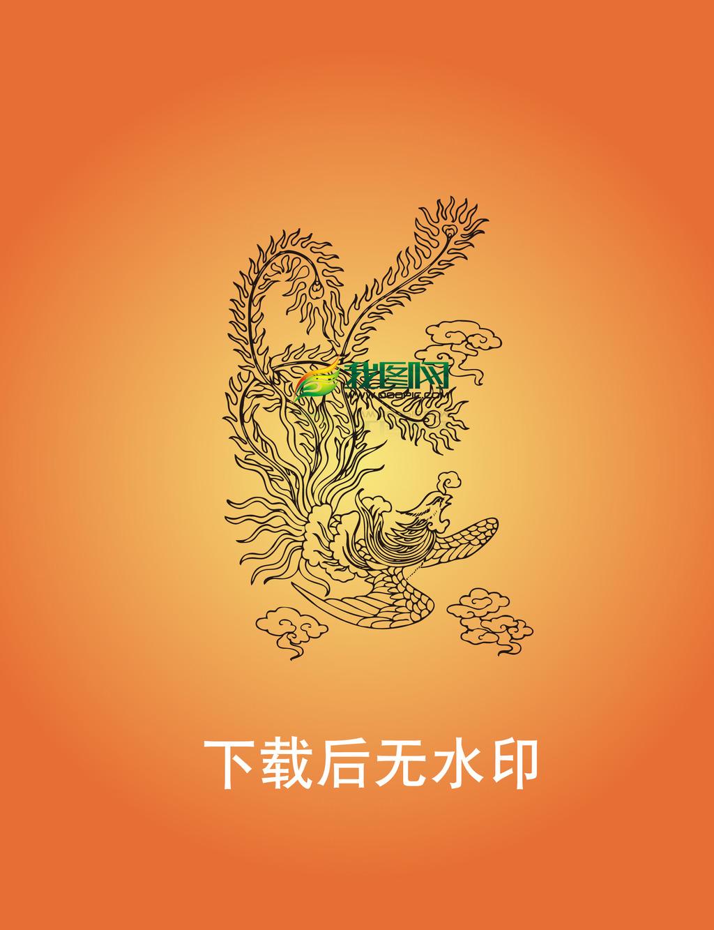 中国传统图案元素ai矢量格式