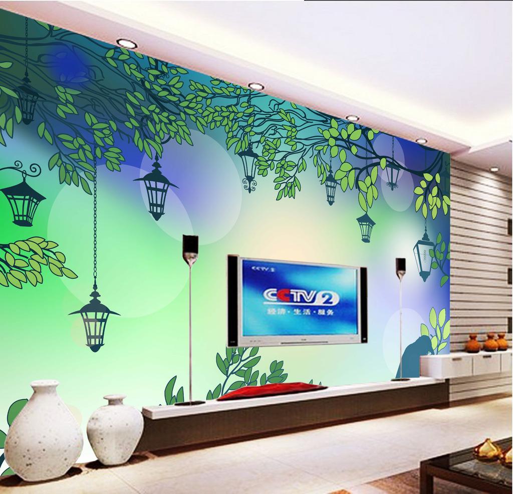 背景墙 电视 花纹/复古花纹电视背景墙