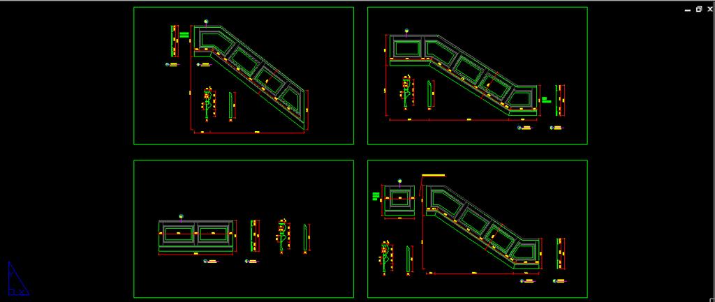 室内设计 cad图库 家具cad图纸 > 三层楼梯木饰面设计  下一张&