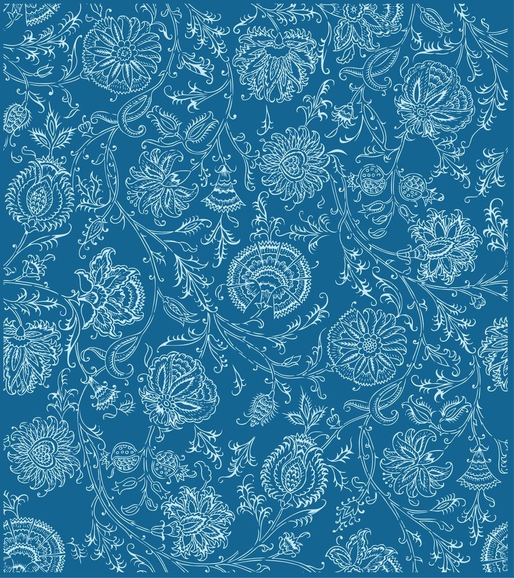 花色花纹布料图片