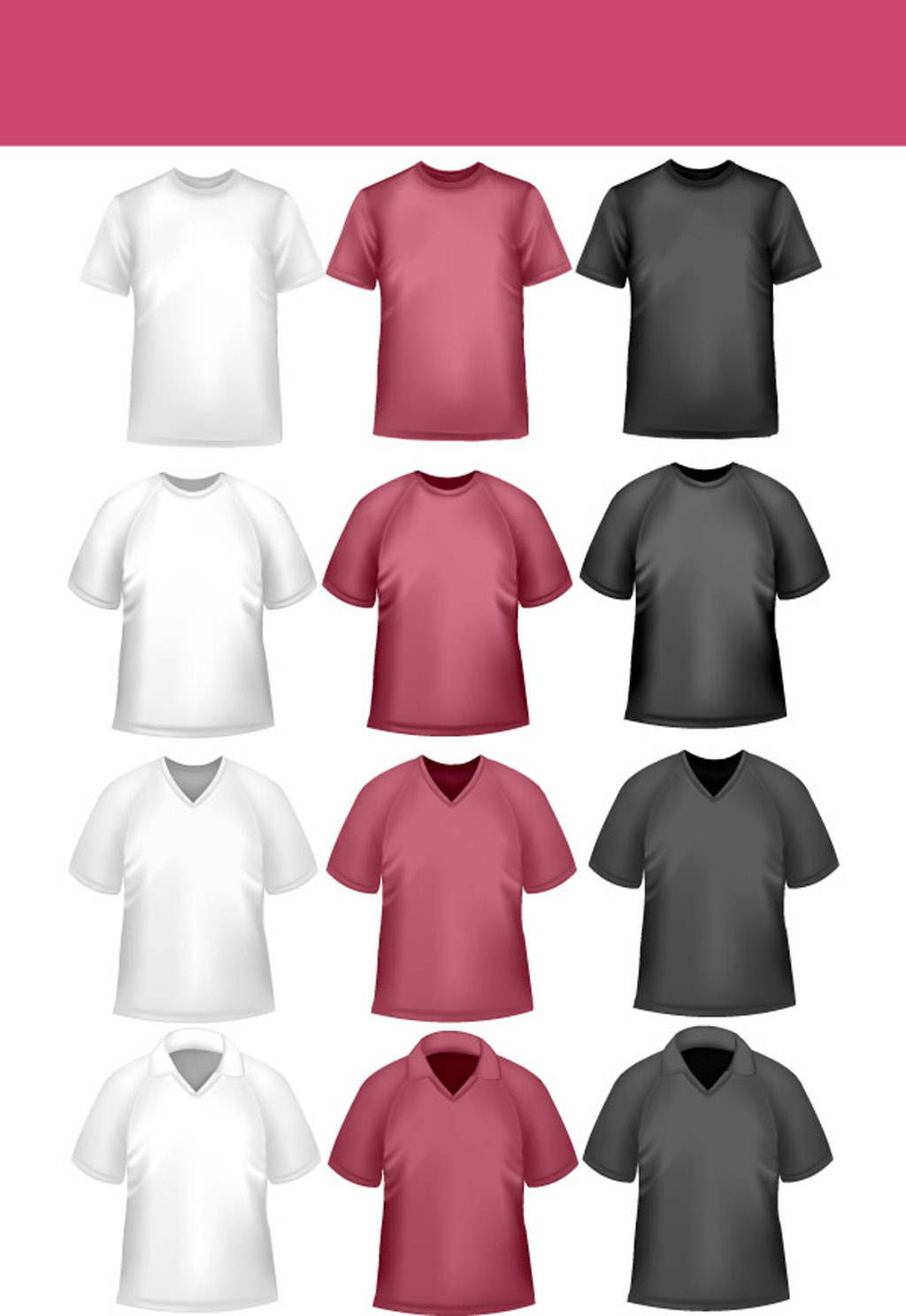 t恤设计模板下载 t恤设计图片下载