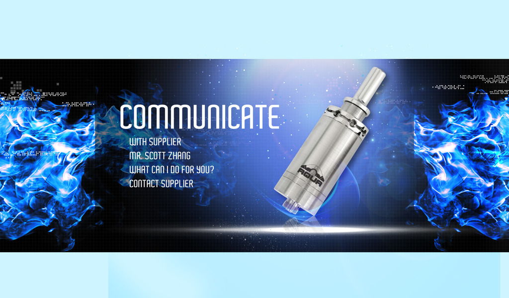 电子香烟产品介绍宣传海报店铺促销海报图片