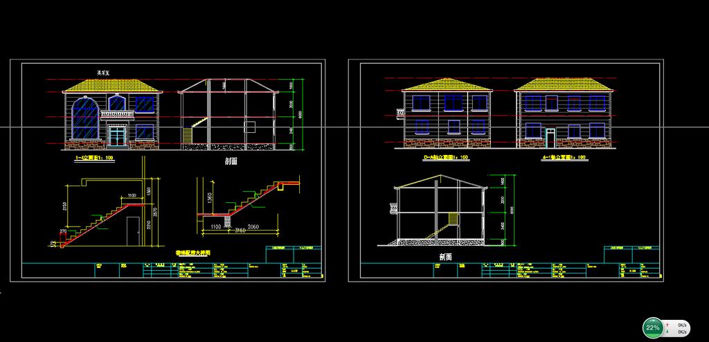 别墅设计图下载模板下载(图片编号:12005132)