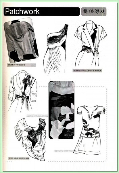 裤子手绘设计 手绘设计 裤子设计稿 裤子素描稿 模特 短裤手绘 实物