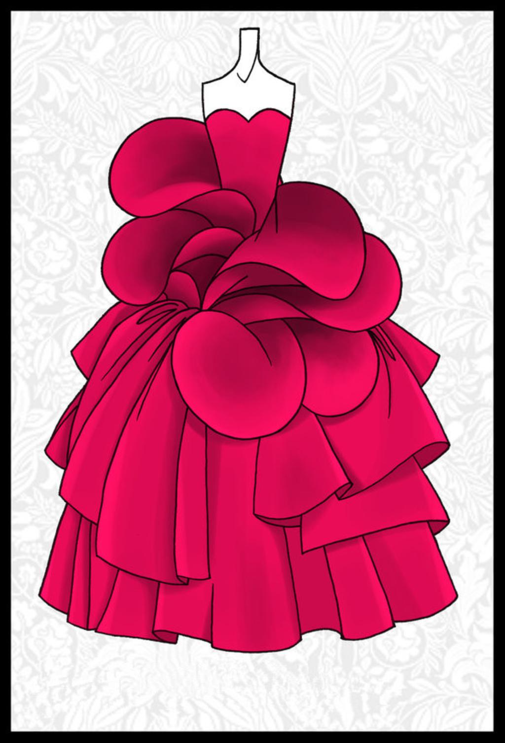 女装手绘搞 手绘搞 女装原稿 女装线描搞 素描搞 色彩稿 服装 上色稿