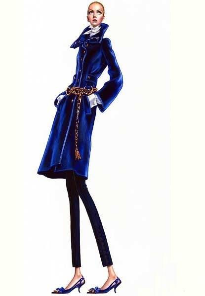 服装展示设计 展示设计 服装设计 打板设计 时装设计 素描 速写 色彩