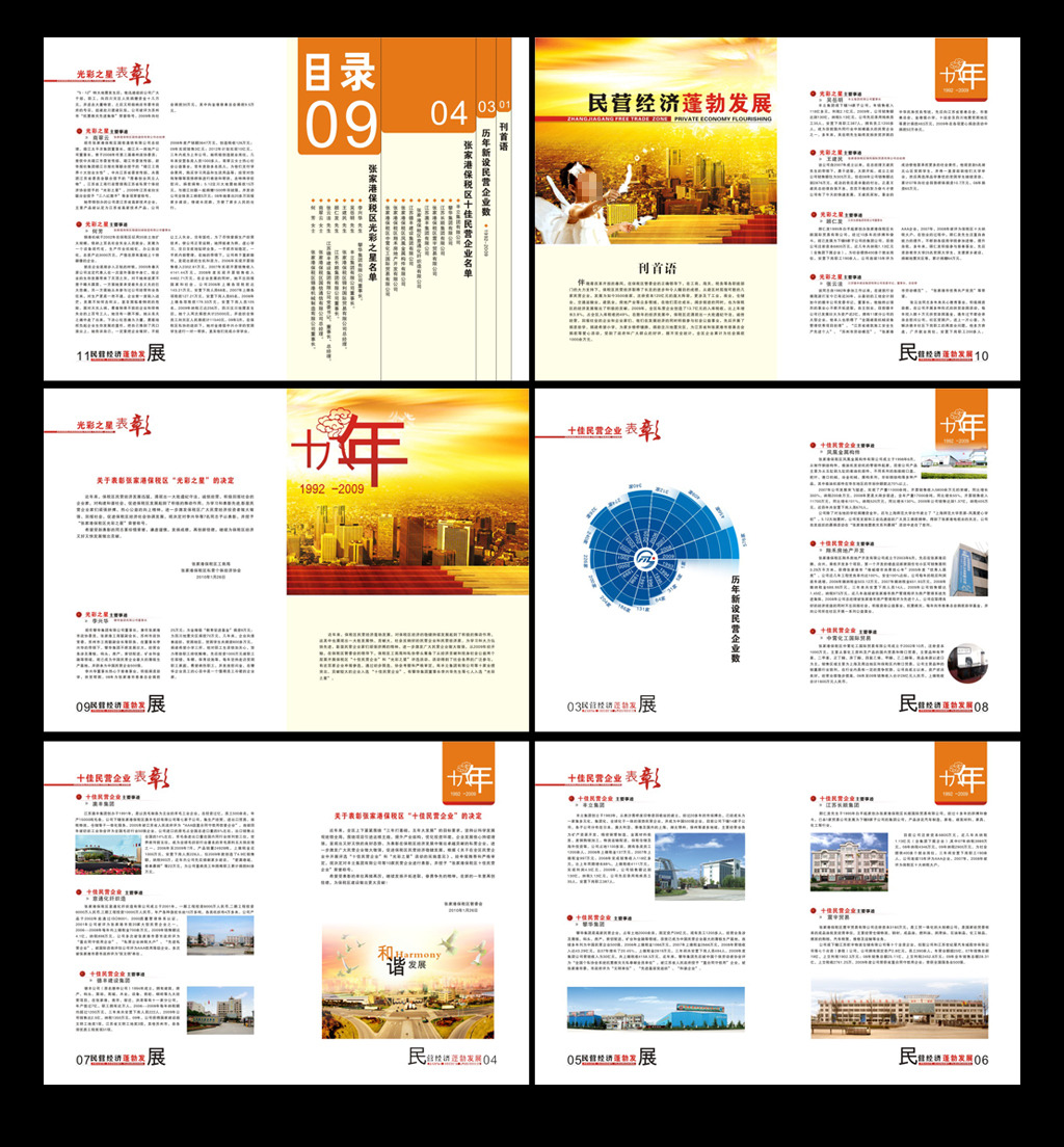 下载企业报纸版面设计模板下载