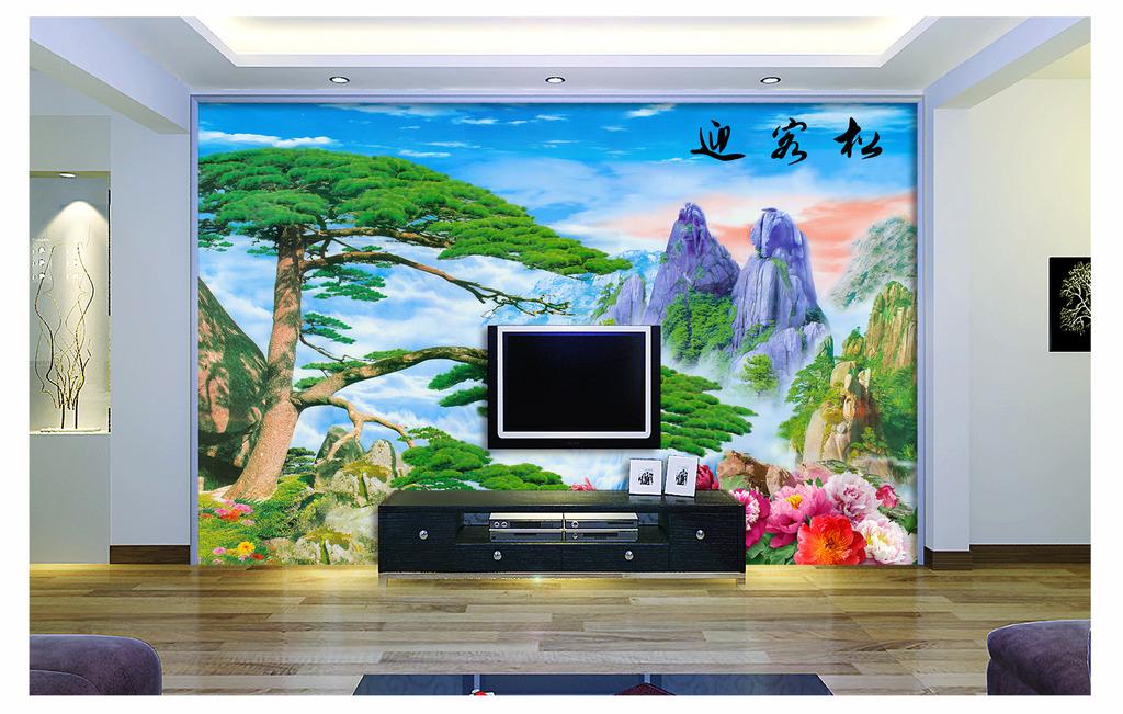 电视墙装修设计图2018