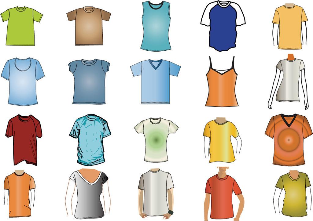 服装设计 t恤设计 其他t恤