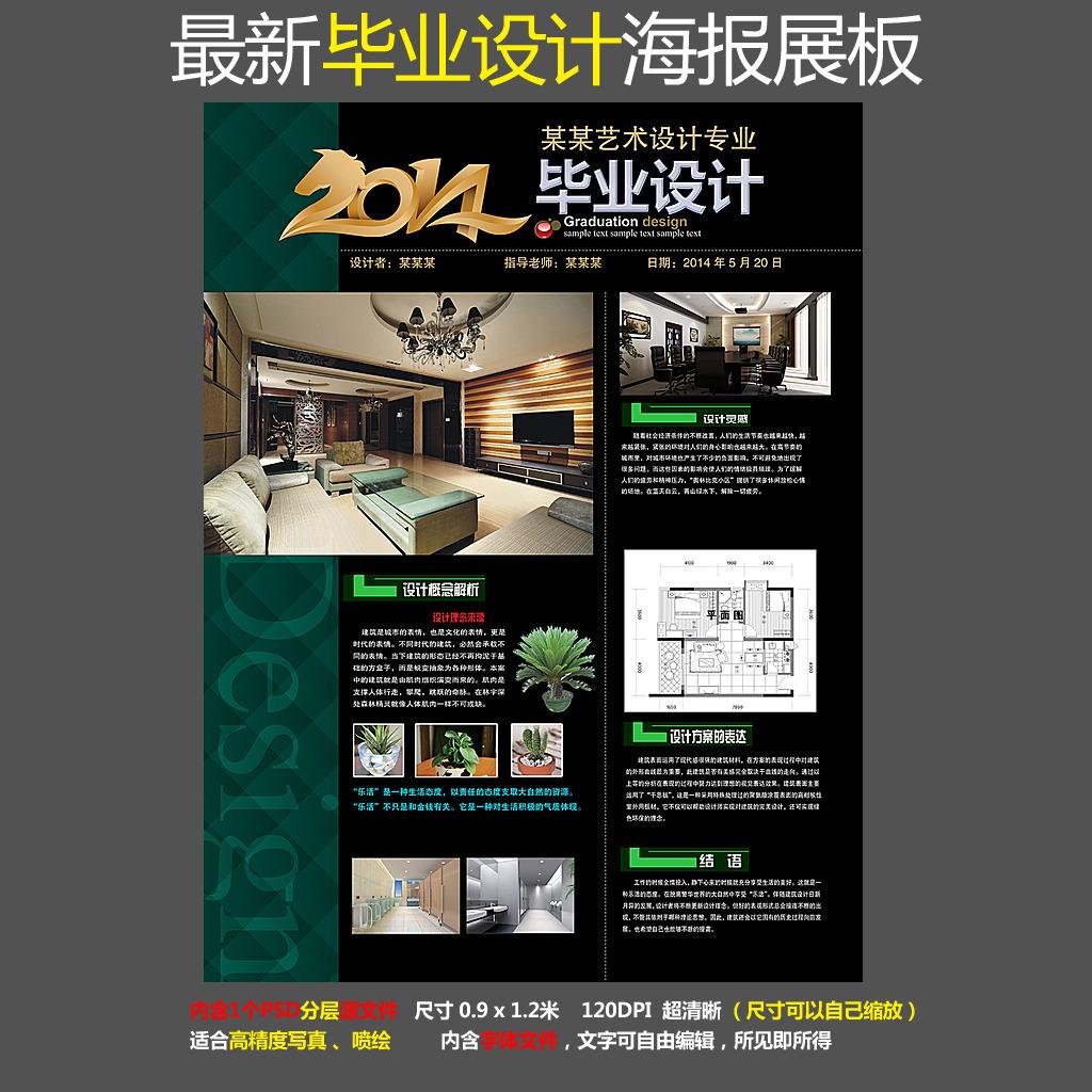 毕业设计模板下载 毕业设计图片下载 毕业设计 展板设计 毕业展板设计