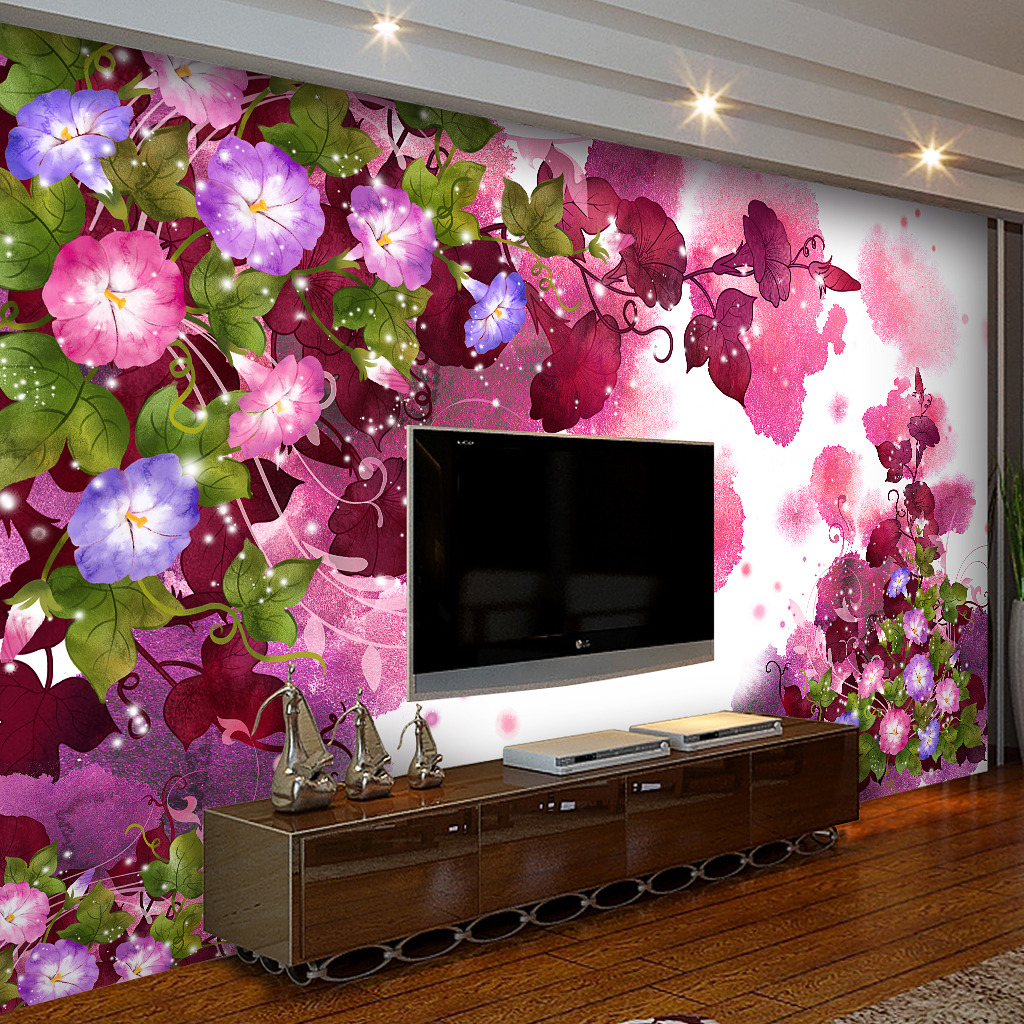 客厅背景墙花客厅沙发背景墙墙画图片12