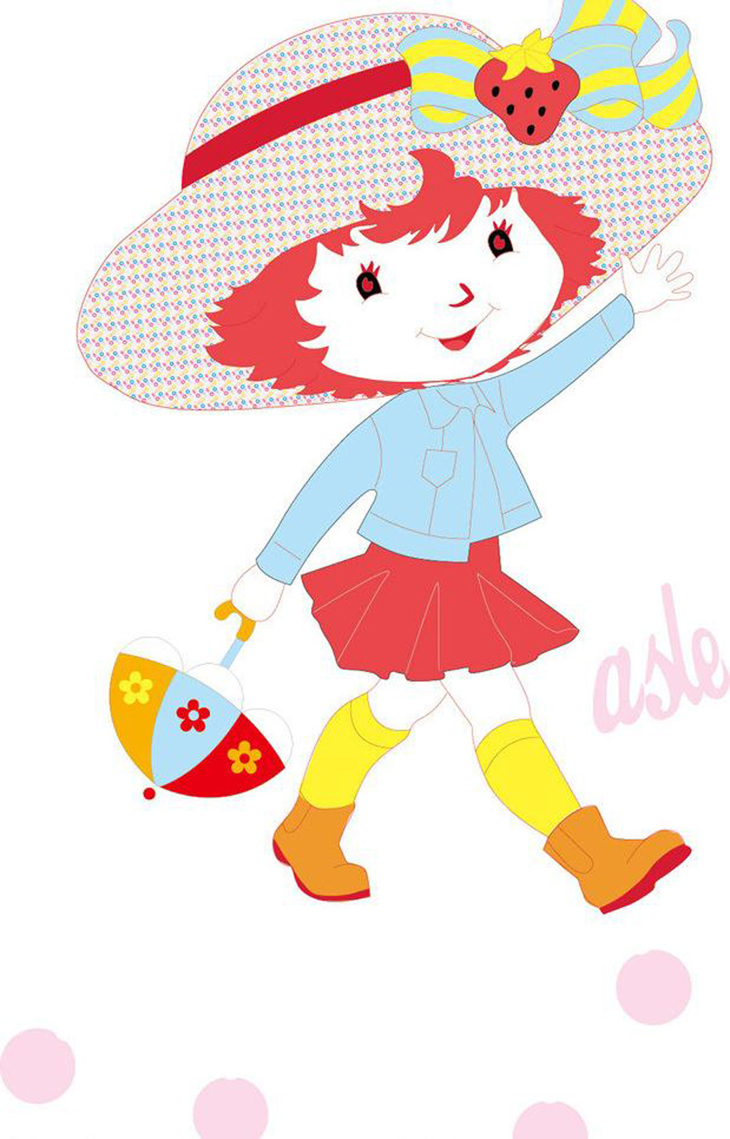 鲜花 儿童 卡通 卡通人物 创意插画 插画 创意 创意设计 印花 图案