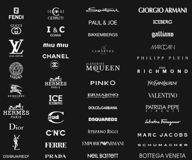 奢侈品标志logo图片模板下载(图片编号:12032