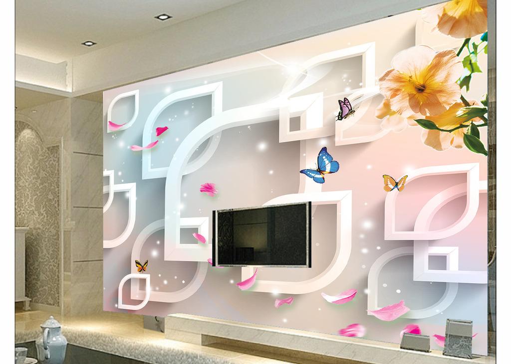 3d电视背景墙模板下载(图片编号:12032930)