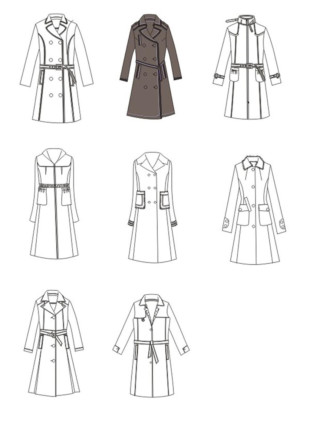 服装设计效果图手稿