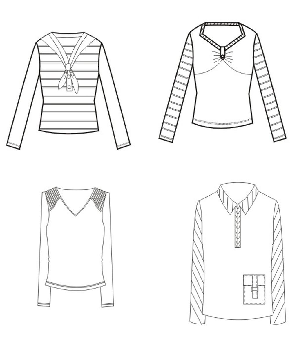 服装手稿设计