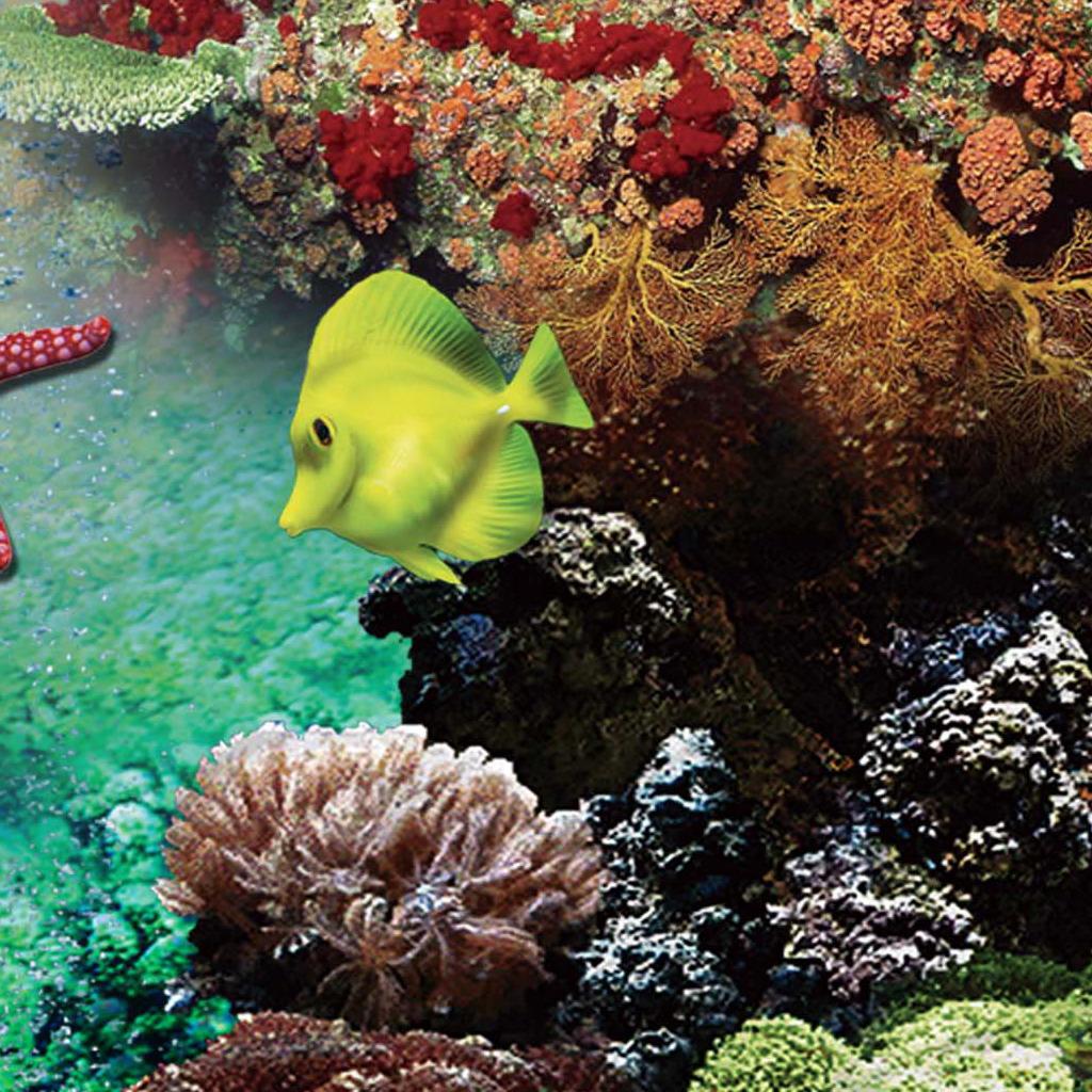 背景墙/梦幻海底世界背景墙模板下载
