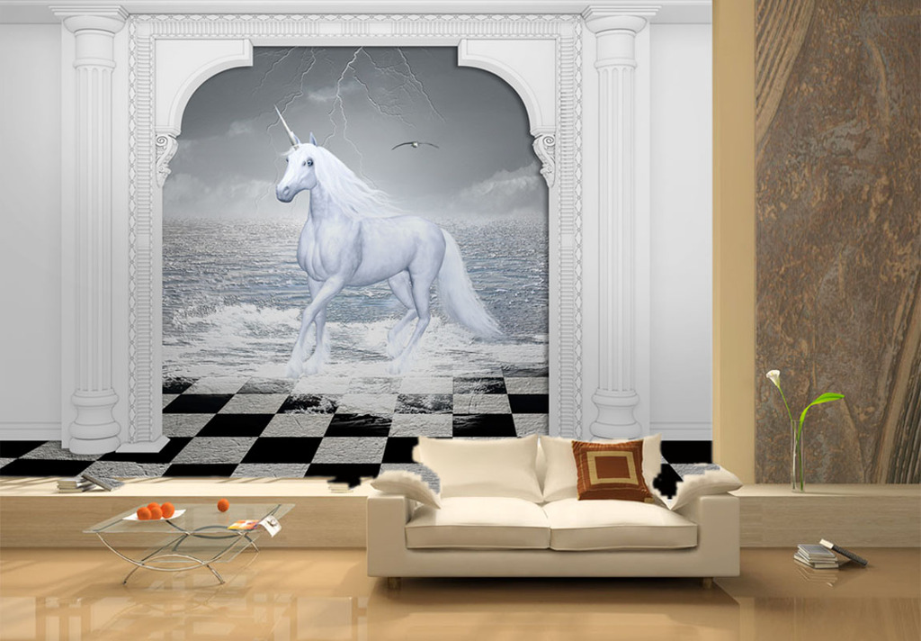 3d壁画3d电视背景欧式3d壁画图片