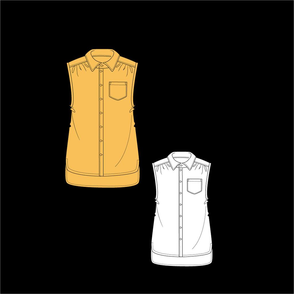 女装手稿设计图片下载 女装手稿设计 女装设计 上衣设计 女士半袖设计