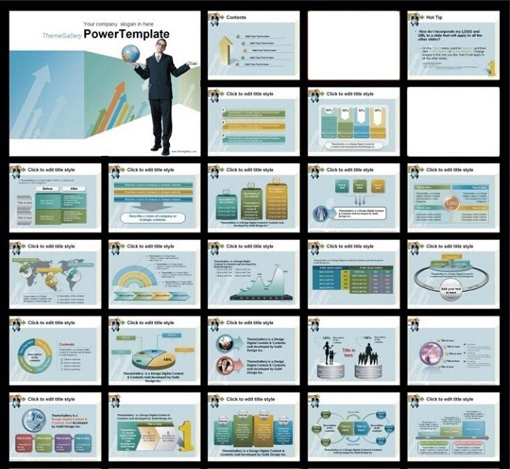 商务职场贸易ppt模板模板下载