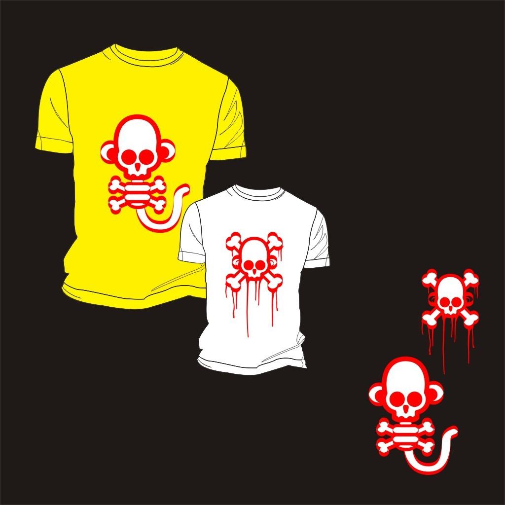 t恤衫印花图案设计