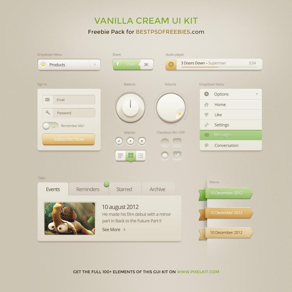 平面设计 网页设计模板 ui设计|界面 > 网站ui设计app元素psd模版  下