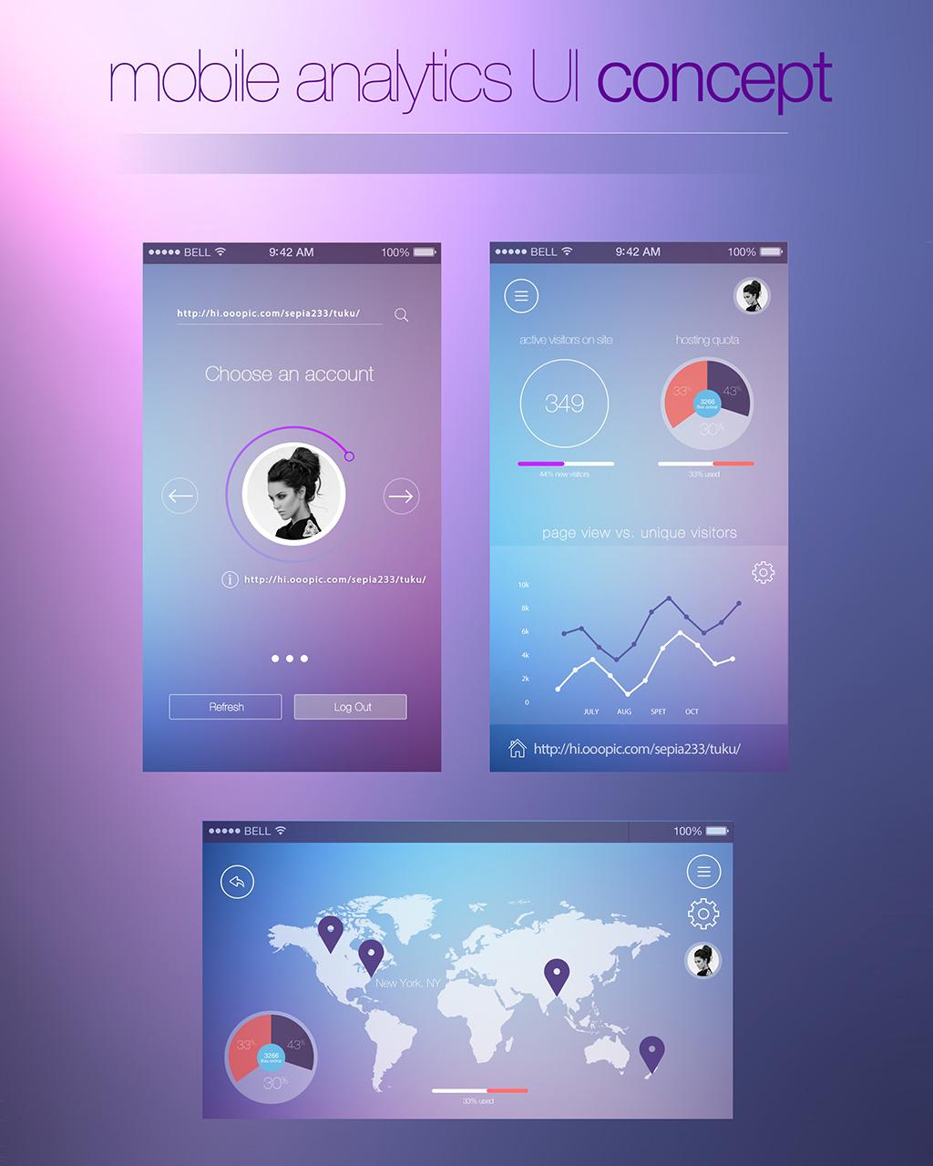 手机软件界面设计ui交互设计