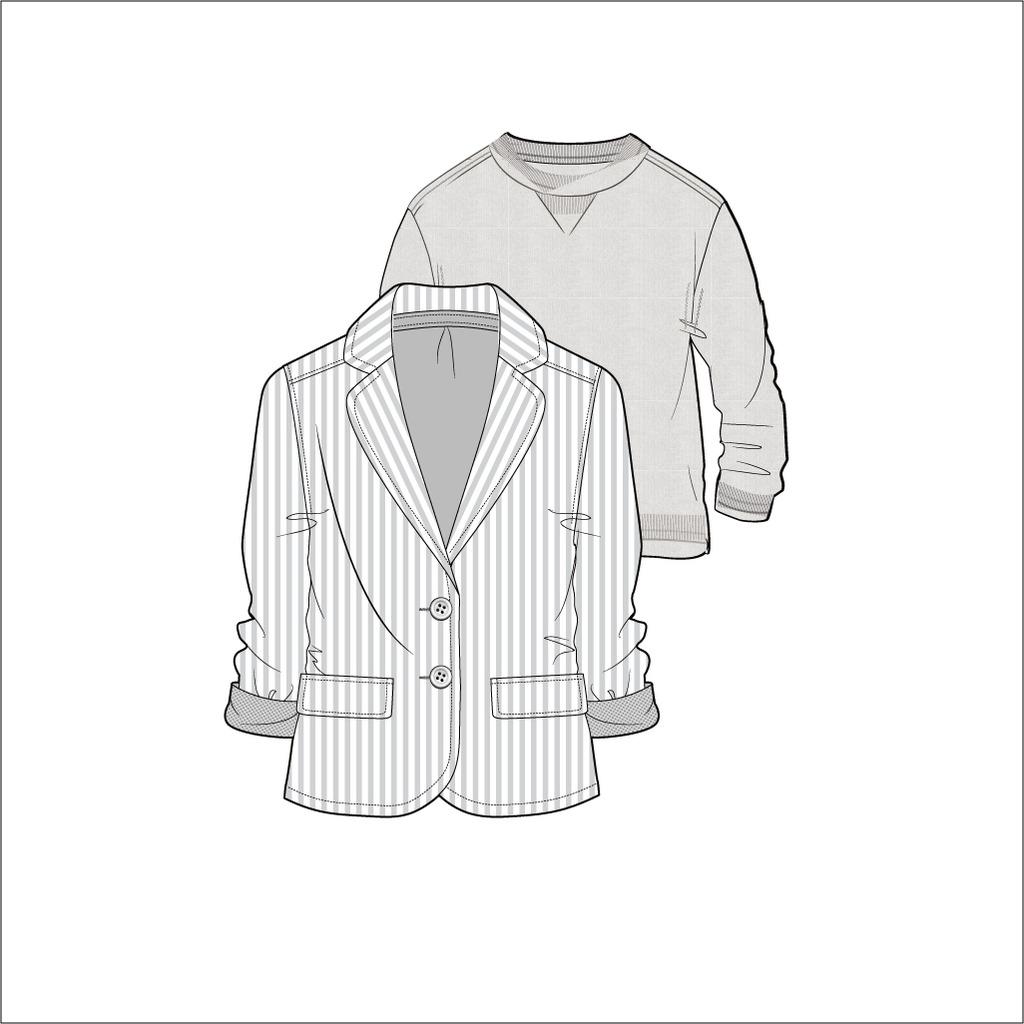 服装设计手绘手稿图 男装服装手绘设计图 男装设计手绘效果图