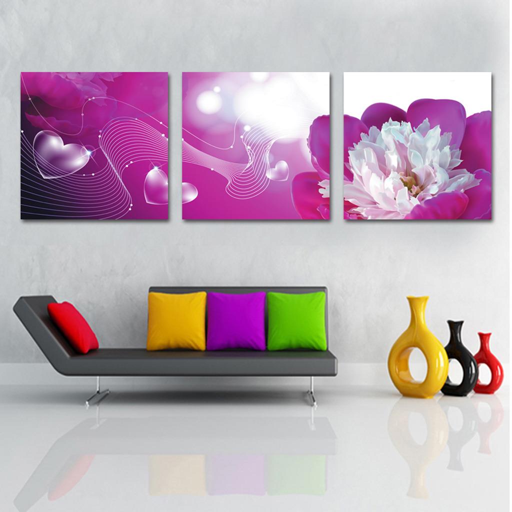 艺术 花卉/[版权图片]大气紫色花艺术花卉无框画