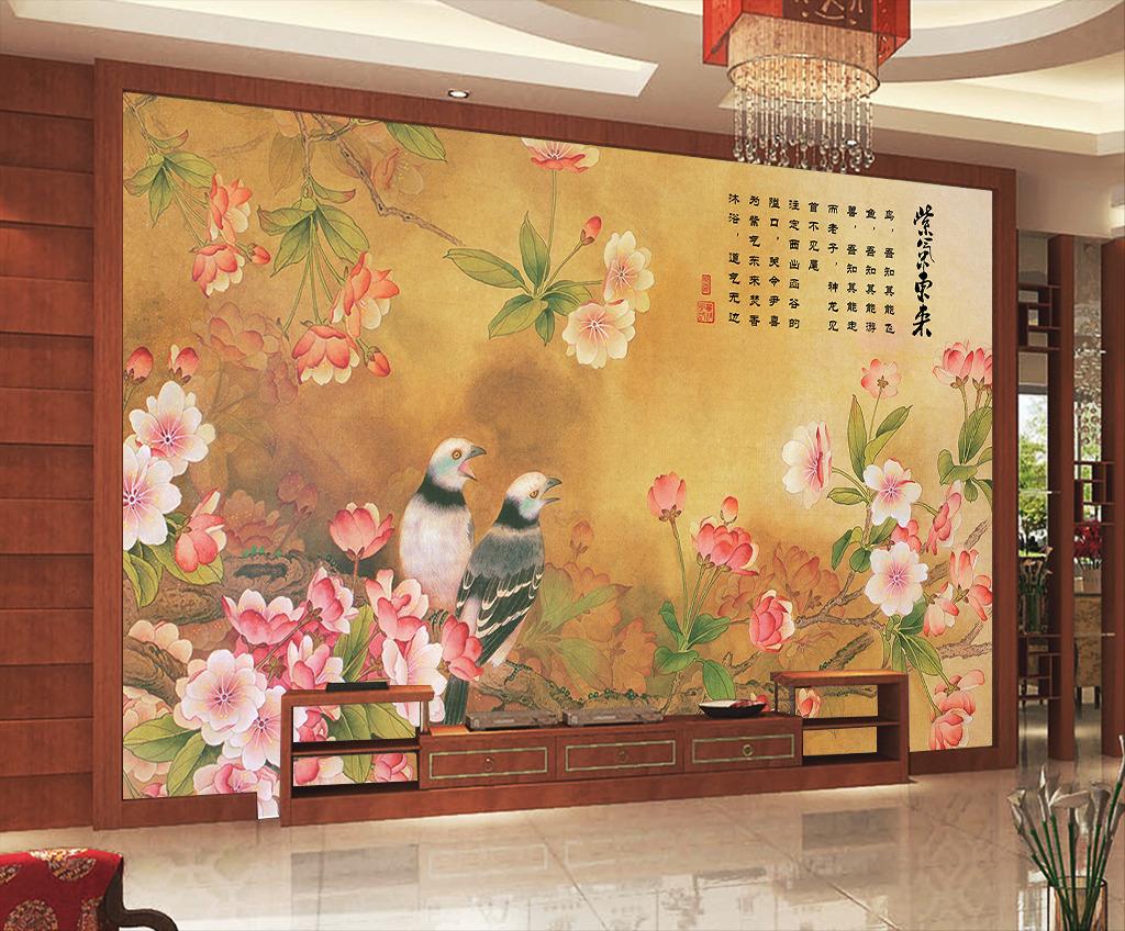 墙绘图案 墙壁装饰