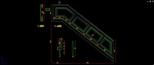 欧式别墅楼梯护墙板设计图模板下载(图片编号:)_家具