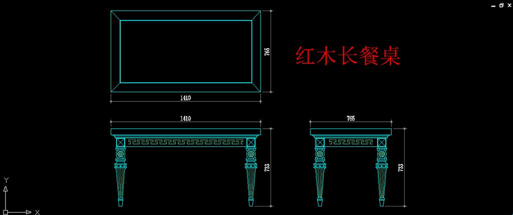 cad图库 家具设计图 柜子图纸