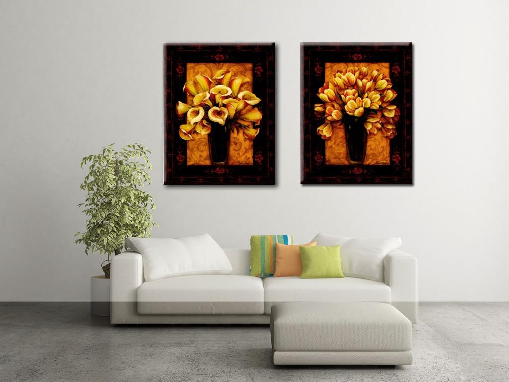 客厅花卉装饰画高清